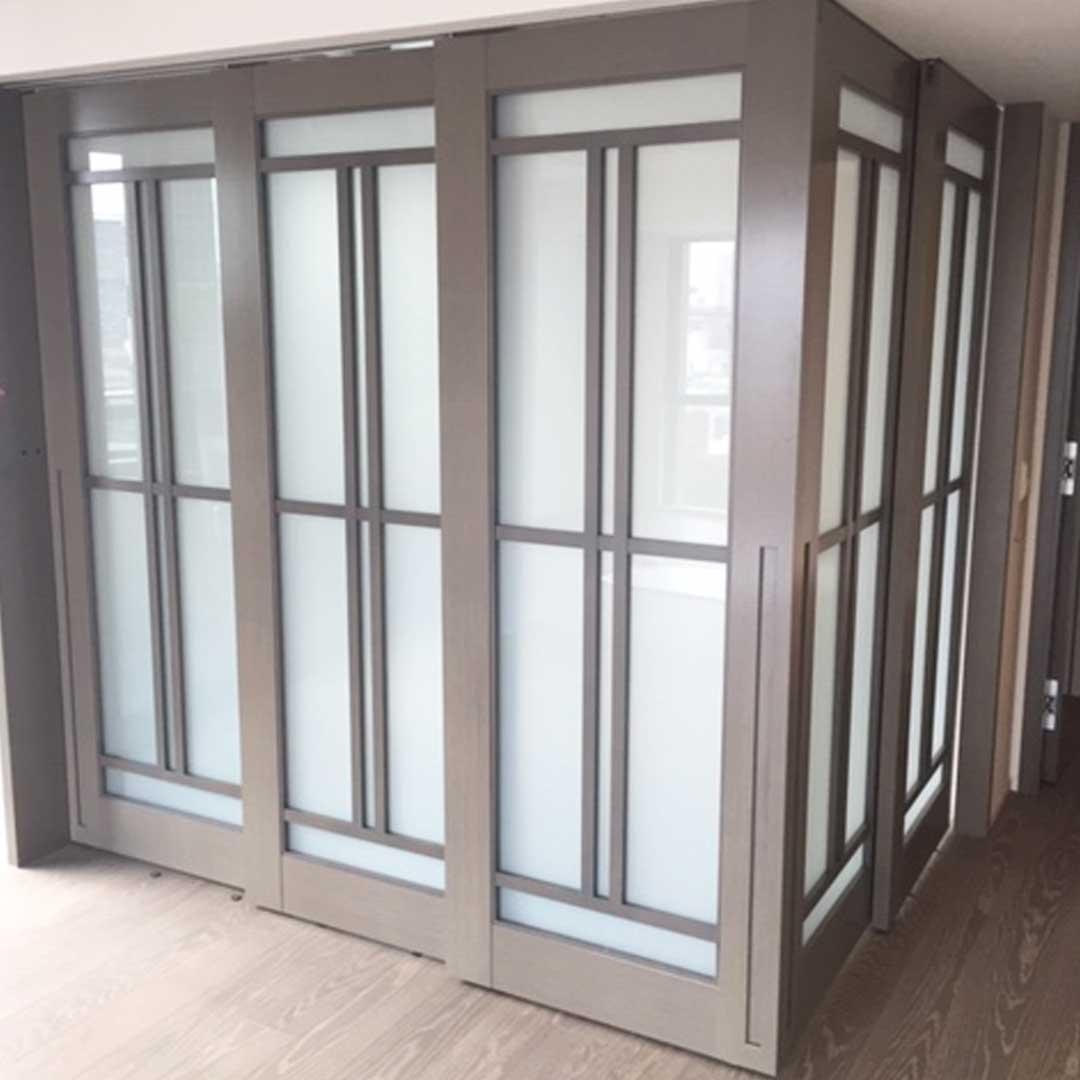 ガラス戸 共栄産業 特注の板 建具の製造 販売 施工 飛騨古川
