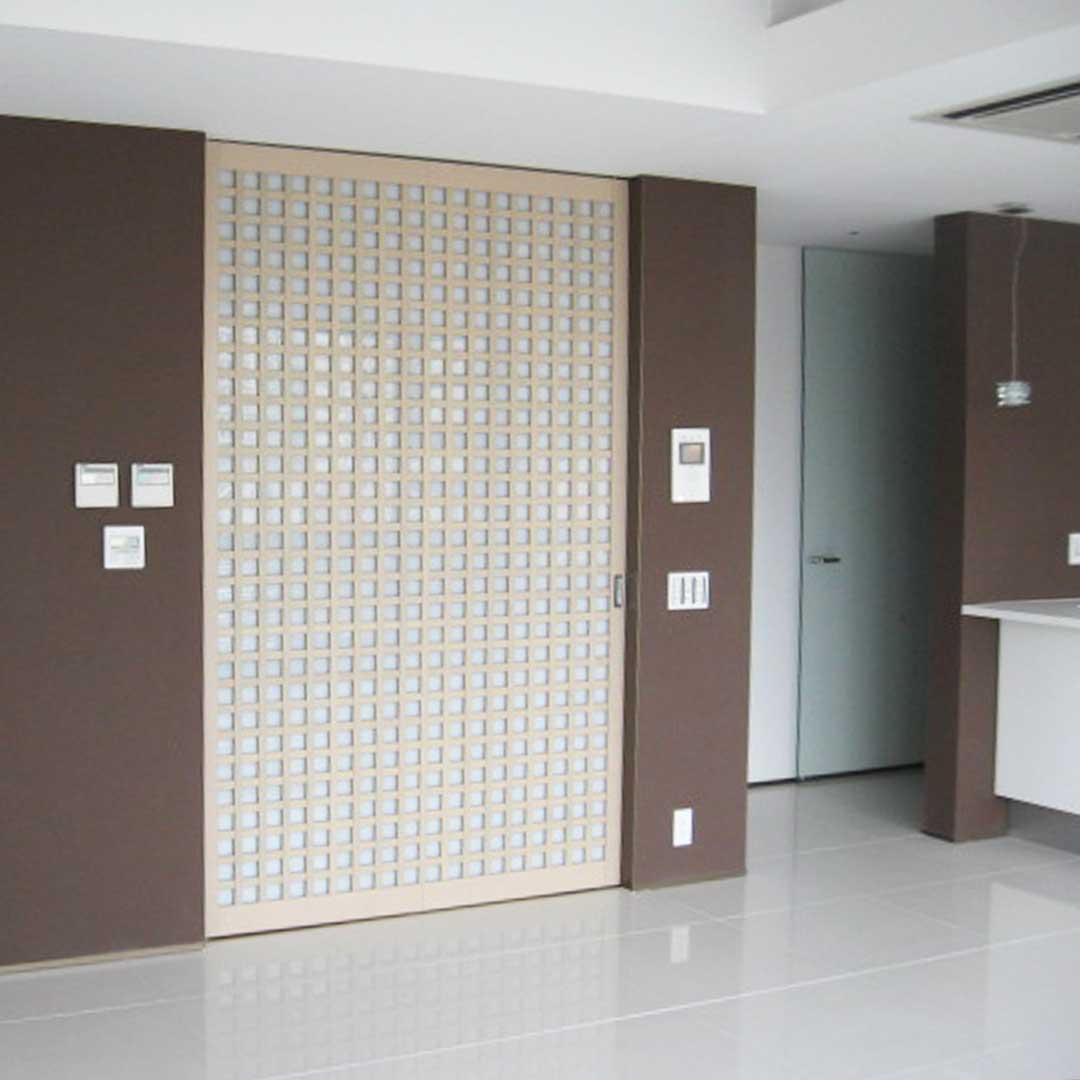 格子戸 共栄産業 特注の板 建具の製造 販売 施工 飛騨古川